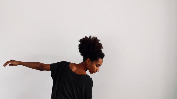 Dance All Year Long - danser Louise Mochia åbnede året for dans i Odense. FOTO: Dance All Year Long